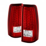 2003 GMC Sierra LED Tail Lights C-DRL