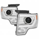 2010 Ford F150 DRL Tube Projector Headlights