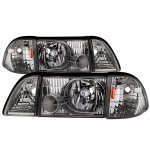 Ford Mustang 1987-1993 Headlights Set