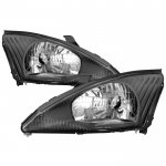 Ford Focus 2000-2004 Black Headlights