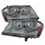 Dodge Avenger 2008-2014 Smoked Headlights