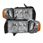 Dodge Ram Sport 1999-2001 Headlights and Signal Lights
