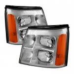 2002 Cadillac Escalade Headlights
