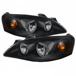 2010 Pontiac G6 Black Headlights