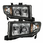 2009 Honda Ridgeline Black Headlights