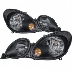 Lexus GS430 1998-2005 Black Headlights