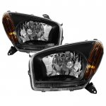 Toyota RAV4 2001-2003 Black Headlights