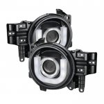 Toyota FJ Cruiser 2011-2013 Black Projector Headlights