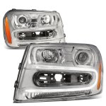 Chevy TrailBlazer 2002-2009 Projector Headlights LED DRL