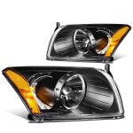 Dodge Caliber 2007-2012 Black Headlights