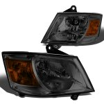 Dodge Caravan 2001-2007 Smoked Headlights