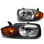 Chevy Cavalier 2003-2005 Black Headlights