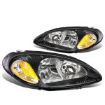 Chrysler PT Cruiser 2001-2005 Black Headlights
