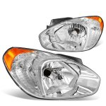 2007 Hyundai Accent Headlights