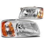 Hyundai Accent 2000-2002 Headlights