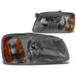 Hyundai Accent 2000-2002 Smoked Headlights