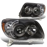 2008 Toyota 4Runner Black Projector Headlights