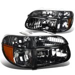 1997 Mercury Mountaineer Smoked Headlights