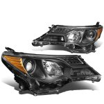 Toyota RAV4 2013-2015 Black Projector Headlights