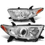 Toyota Highlander 2011-2013 Projector Headlights