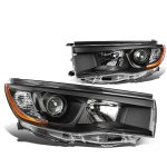 Toyota Highlander 2014-2016 Black Projector Headlights