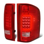 2007 Chevy Silverado LED Tail Lights Red C-Tube