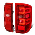 2015 Chevy Silverado 2500HD LED Tail Lights C-Tube