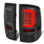 2010 Dodge Ram 3500 Smoked LED Tail Lights C-Tube