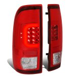 2002 Ford F250 Super Duty LED Tail Lights C-Tube