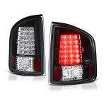 Chevy S10 1994-2004 Black LED Tail Lights