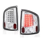 1998 Isuzu Hombre Clear LED Tail Lights