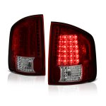 2001 GMC Sonoma Red and Smoked LED Tail Lights