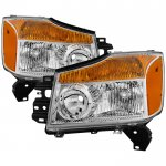 2012 Nissan Titan Headlights