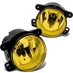 2014 Jeep Wrangler JK Yellow Fog Lights