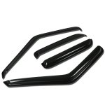 Chevy Blazer 1995-2005 Tinted Side Window Visors Deflectors
