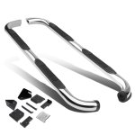 1998 Mazda B2500 Extended Cab Stainless Steel Nerf Bars