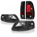 2003 Ford F150 Black Headlights and LED Tail Lights