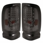 Dodge Ram 2500 1994-2002 Smoked LED Tail Lights