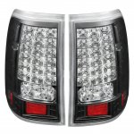 2002 Ford Explorer Black LED Tail Lights