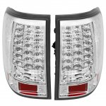 2002 Ford Explorer Clear LED Tail Lights