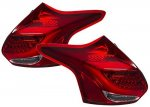 Ford Focus Hatchback 2012-2014 Tube LED Tail Lights