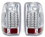 1998 Ford Ranger Clear LED Tail Lights