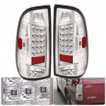 1999 Ford F150 Clear LED Tail Lights