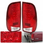 2002 Ford F250 Super Duty LED Tail Lights