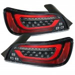 Honda S2000 2000-2009 Black Tube LED Tail Lights