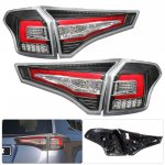 Toyota RAV4 2013-2015 Black Tube LED Tail Lights