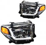 2014 Toyota Tundra Projector Headlights LED DRL
