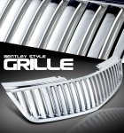 Cadillac DTS 2006-2010 Chrome Vertical Grille