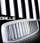 Dodge Ram 3500 2006-2009 Chrome Vertical Bar Grille