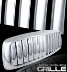 Dodge Ram 3500 2003-2005 Chrome Vertical Bar Grille